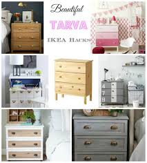 diy ikea hack dresser. Diy Ikea Tarva. Medium Size Hacks Tarva Drawers Decorator Hack Headboard Co Large Dresser