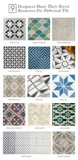 Designers Image Tile 9 Designers Share Their Secret Resources For Patterned Tile