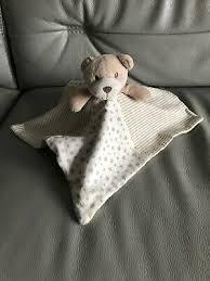 matalan brown beige stars stripes teddy