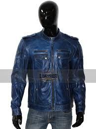 new slim fit biker 100 real sheepskin unique vintage leather jacket for men