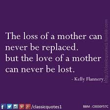 Loss Of Mother Quotes Unique Classic Quotes The Loss Of A Mother Can Never Be Replaced But The
