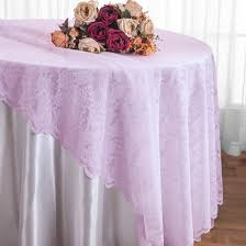 108 round lace table overlays lavender 90811 1pc pk