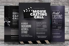Casting Call Flyer Templates | Casting Call Flyer Templates … | Flickr