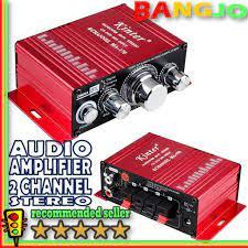 Ampli Audio Amplifier Kecil Mini 2 Channel Output Stereo Exclusive
