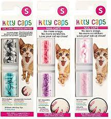 kitty caps cat nail caps color varies