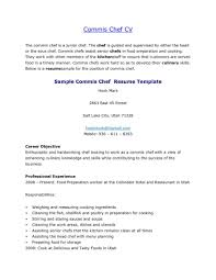 Culinary Resume Templates Professional Template Cooking Chef Exa