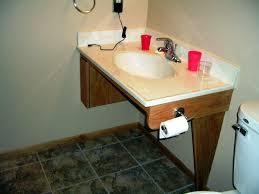 Modern Safety Handicap Accessible Bathroom Inspiration Home Designs - Handicap bathroom size