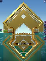 building in the blockheads this doesn t realy relate with feeling crafty but i think this is an amazing build maybe i should make a board on gaming