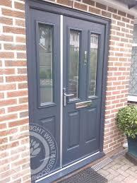 grey front doorGrey Composite Front Doors Ideas Design Pics  Examples