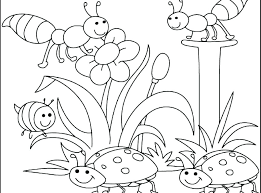 Coloring Pages Spring Printable Coloring Pages For Toddlers Child