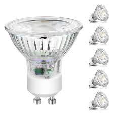 5000k Led Light Bulbs Buy Ascher Gu10 Cob Led Bulbs 50w Halogen Bulbs Equivalent