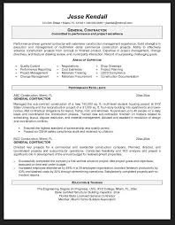 Construction Objective For Resume Resume objectives for a general job 45