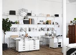 design studio office. really love the look of wall shelves and desks with storage sarah design studio office c