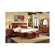 Image modern bedroom furniture sets mahogany Vintage Aamerica Westlake Solid Cherry Brown Storage Bedroom Set The Simple Stores Aamerica Westlake Solid Cherry Brown Storage Bedroom Set The