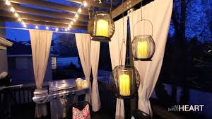 Hanging Lantern Lights String Outdoor String Lights And Hanging Lanterns Withheart