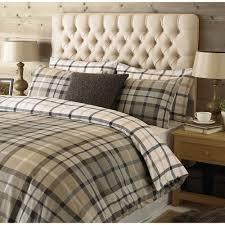 duvet covers 33 vibrant design tartan duvet sets rochester riva paoletti check brushed cotton ste cover