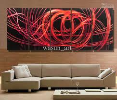 radiance panel metal wall art abstract contemporary modern super panels light copper flock wallpaper dining room