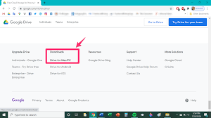 add Google Drive to your desktop on a PC