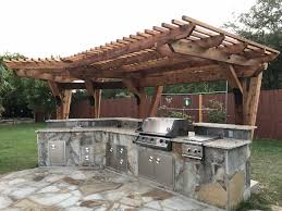 Cantilever Pergola Design Ideas Pictures Cedar Cantilever Pergola Over Our Existing Outdoor Kitchen