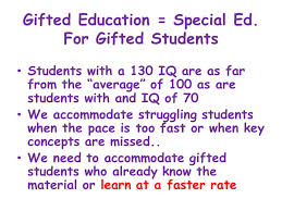 3 gifted education special ed for gifted students