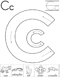 71ec01e8c1e6c48ed2e44b9a5c091702 alphabet letter c worksheet preschool printable activity on motion worksheet