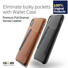 original mujjo leather wallet case iphone x xs xr xs max xs max brown