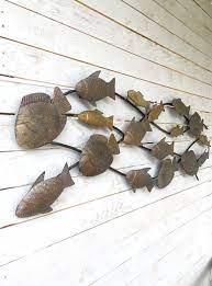 of fish wall art metal wall decor