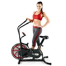 fan exercise bike. buy marcy fan exercise bike with air resistance system - red and black ns-1000 online at low prices in india amazon.in