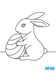 Small Picture Cute easter bunny coloring pages Hellokidscom