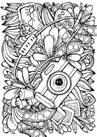 Cooloring Book Stress Coloring Pages Printable For Adults And