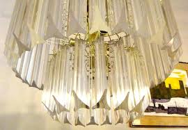 vintage lucite chandelier vintage and brass chandelier 4 contemporary chandeliers for foyer