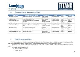 Project Schedule Management Plan Template Alpha Case Study Project Management Plan Sample