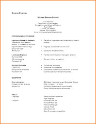 Pleasant Resume Examples For Students Pdf For Resume Samples For