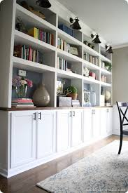 wall units prefab built in bookcases premade built in bookcases diy built ins using cabinets