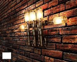 image of copper light fixtures gas