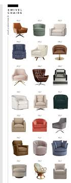 Small Swivel Chairs For Living Room 17 Best Ideas About Swivel Chair On Pinterest Small Swivel