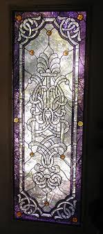 studio leaded stained glass door