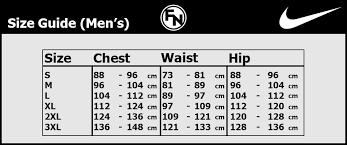 Nike Shorts Size Chart Uk 73 Proper Nike Size Chart With Cm