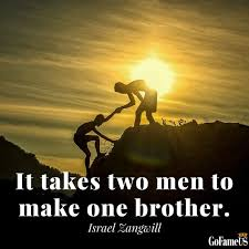 Brotherly Love Quotes Fascinating Top 48 Quotes On Brotherhood And Brotherly Love With HQ Images