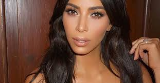 kim kardashian makeup routine review