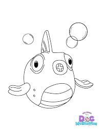 Doc Mcstuffins Color Pages Doc Coloring Page Fish Squeakers Doc