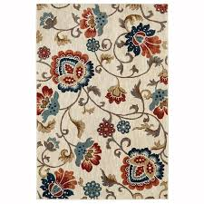 mohawk home graceland cream indoor inspirational area rug common 10 x 13 actual