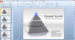 Ppt Pyramid 3d Pyramid Powerpoint Templates Toolkit