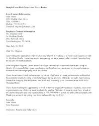 Cover Letter Receptionist Position Examples Letters For Sample