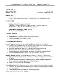 Cover Letter Examples Teaching Assistant