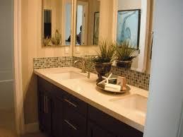 Sweet Looking Double Sink Bathroom Decorating Ideas Vanity