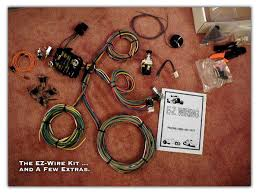 1954 chevy pickup rewire project page 1 ez wire kit