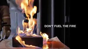 don't fuel the fire  ethanol fireplace  burner hazards  youtube