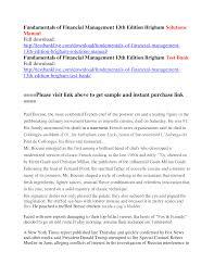finance essays finance and management docsity