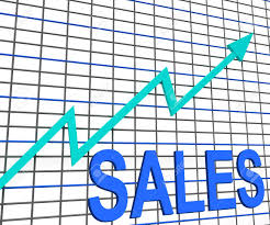 Chart Showing Increase Sales Chart Graph Showing Increasing Profits Trade
